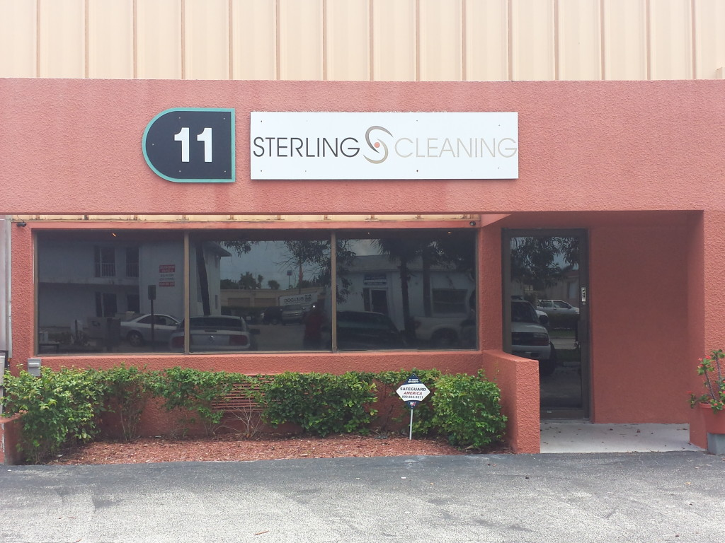 Sterling Cleaning Front of the Store