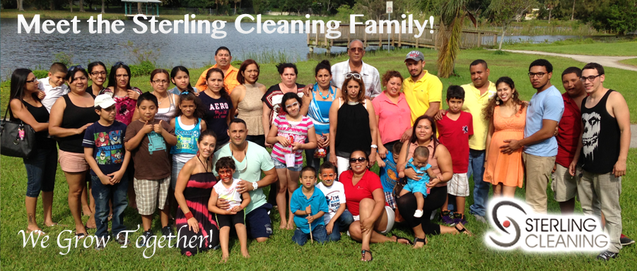 Sterling Cleaning Services Palm Beach Gardens Family