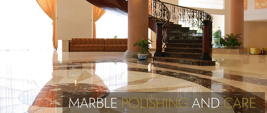 Marble Floor and Countertop Polishing by Sterling Cleaning