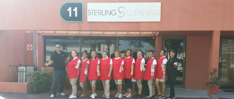 Sterling Cleaning - House cleaning Team