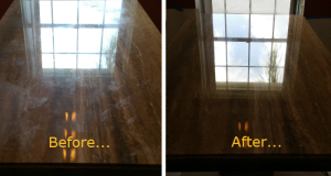 Table Marble Polishing - Sterling Cleaning - Palm Beach Gardens