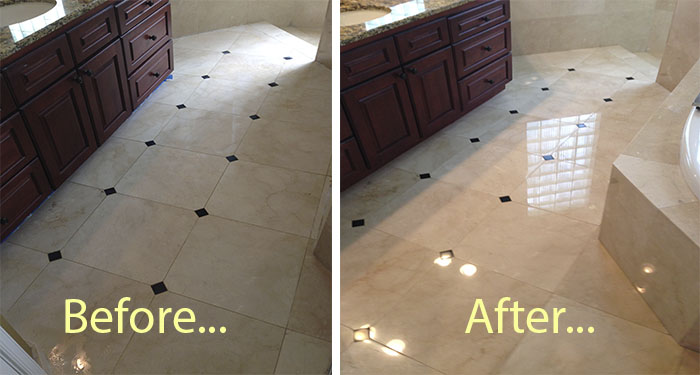 Our Marble Floor Countertop Polishing Gallery In Palm