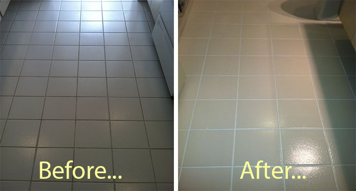 Tile and Grout Cleaning Services Gallery - Palm Beach Florida