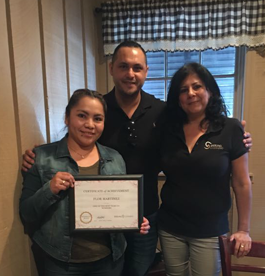 Sterling Cleaning House Cleaning Crew Recognition Awards